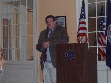 Speaking at the luncheon